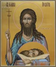 Икона святого Иоанна Предтечи, артикул 6027