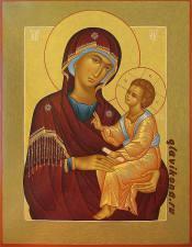 Икона Богородицы с младенцем купить, артикул 230