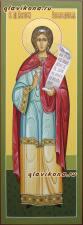 Мерная икона святой Василиссы, артикул 128