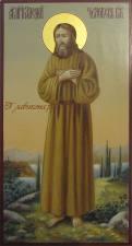 Писаная мерная икона Алексия, человека Божего