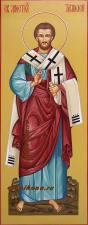 Апостол Тимофей, мерная рукописная икона артикул 137