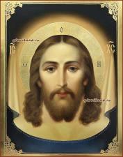 Спас Нерукотворный, писанная икона маслом, артикул 625