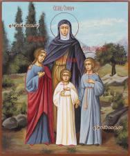 София, Вера, Надежда, Любовь, писаная икоан артикул 430