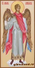 Ростовая икона Ангела Храниителя с мечом, артикул 111