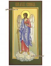 Св. Ангел Хранитель (ростовой), икона писаная в стиле палеха, артикул 711