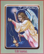 Архангел Селафиил, писаная при храме икона, артикул 6010