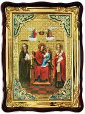 """Божия Матерь """"Экономисса"""", большая храмовая икона, размер 60х80 см"""