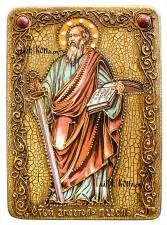Апостол Павел (с мечом), икона подарочная на дубовой доске