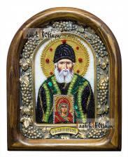 Паисий Святогорец, дивеевская икона из бисера