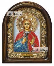 Анатолий Никейский, дивеевская икона из бисера