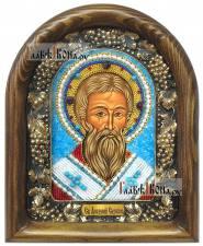 Арсений Сербский, дивеевская икона из бисера
