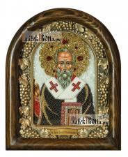 Павел Константинопольский, дивеевская икона из бисера