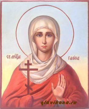 Живописная икона Галины Коринфской, артикул 562
