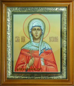 Икона мученицы Натальи в киоте