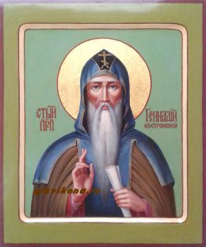 Живописная икона Геннадия