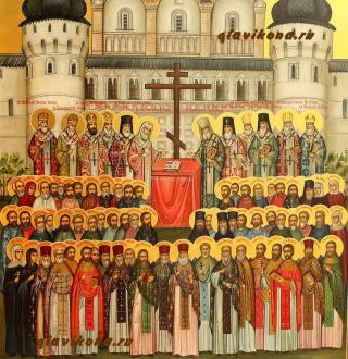 Собор новомучеников Ростово-Ярославский - детали