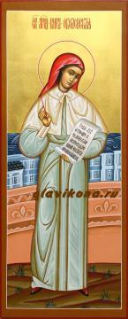Мерная икона Киры Оболенской, артикул 131