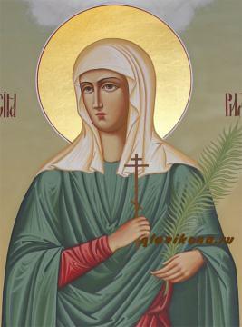 Мерная икона Анастасии Римляныни - лик