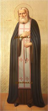 Икона Серафима Саровского в живописном стиле