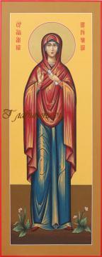 пророчица Анна, мерная икона артикул 146