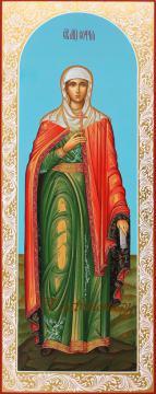 Святая мученица София, мерная икона, артикул 147
