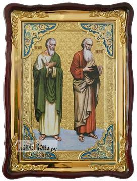 Апостолы Андрей и Матфей, икона 60х80 см