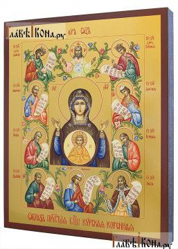 Курская-Коренная Знамение, Божия Матерь - артикул 90495 - вид сбоку