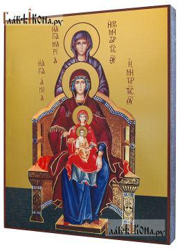 Богородица со сродницами, праведными Анной и Марией - артикул 90488