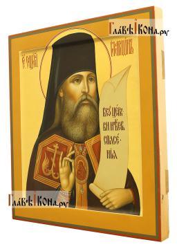 Иларион Верейский (Троицкий), писаная икона, артикул 6257 - вид сбоку