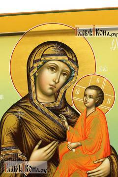 Икона Тихвинской Божией Матери, артикул 234 - детали Образа