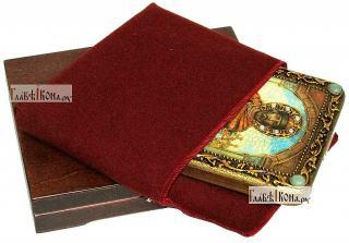 Ярослав Мудрый, икона подарочная на дубовой доске, 15х20 см - вид в комплекте