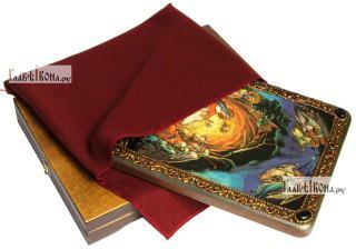 Рождество Христово, аналойная икона подарочная - вид с упаковкой