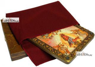 Вознесение Господня, аналойная икона подарочная - вид с упаковкой