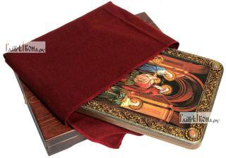 Сретение Господня, аналойная икона подарочная - вид с упаковкой