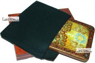 Сошествие Святого Духа, аналойная икона подарочная - вид с упаковкой