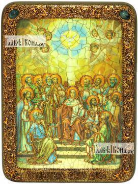 Сошествие Святого Духа, аналойная икона подарочная
