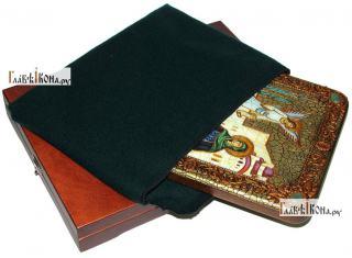 Ирина Каппадокийская (Хрисоволанта), аналойная икона подарочная - вид с упаковкой