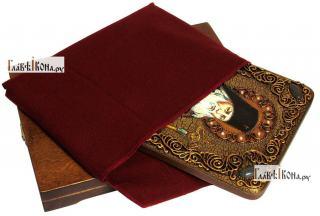 Лука Крымский, святитель, аналойная икона подарочная - вид с упаковкой
