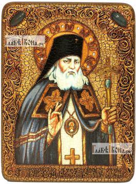 Лука Крымский, святитель, аналойная икона подарочная