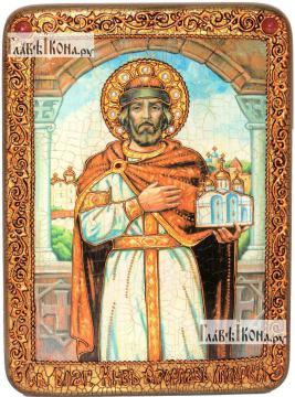 Ярослав Мудрый, князь, аналойная икона подарочная