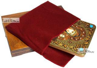 Смоленская Божия Матерь, аналойная икона подарочная - вид с упаковкой