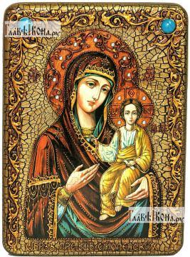 Смоленская Божия Матерь, аналойная икона подарочная