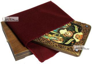 Всех Скорбящих Радость Божия Матерь, аналойная икона подарочная - вид с упаковкой