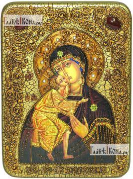 Феодоровская Божия Матерь, аналойная икона подарочная