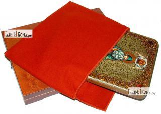 Максим Грек преподобный (ростовой), аналойная икона подарочная - вид с упаковкой