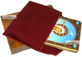 Иулия (Юлия) Карфагенская, аналойная икона подарочная - вид с упаковкой