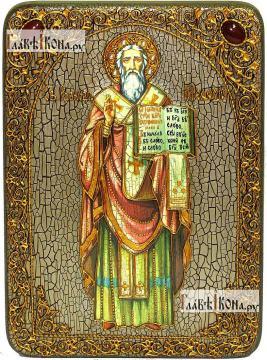 Мефодий Равноапостольный, аналойная икона подарочная
