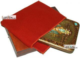 Алексий, митрополит Московский и всея России, аналойная икона подарочная - вид с упаковкой
