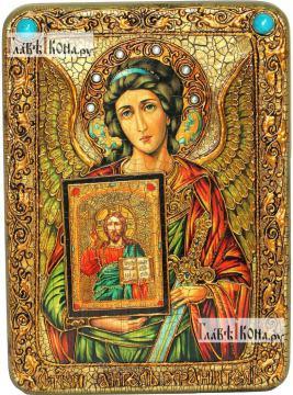 Ангел Хранитель (с образом Господа), аналойная икона подарочная