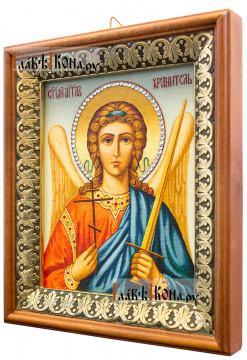 Ангел Хранитель (живописный), икона на холсте в киоте-рамке - вид сбоку